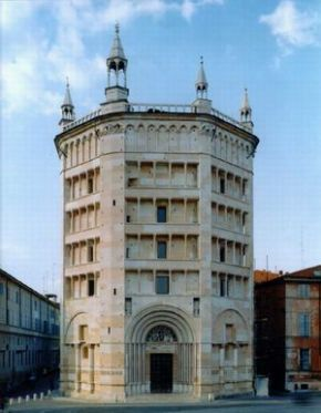 Parma, Battistero.