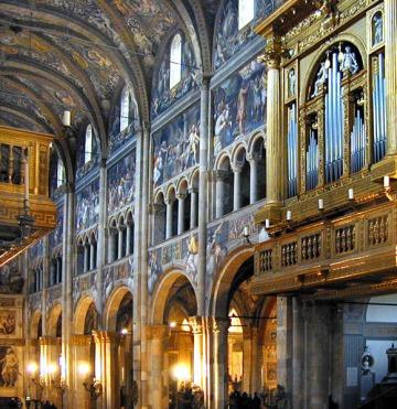 Parma, Cattedrale navata centrale