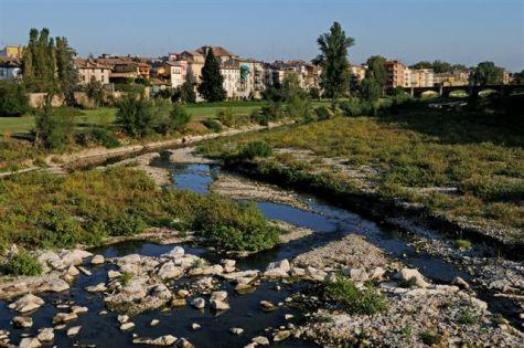 Il torrente Parma.