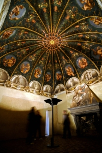Parma, Correggio, camera di San Paolo