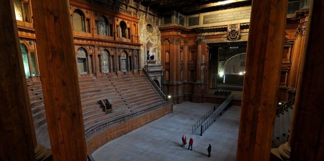 Parma, Teatro Farnese.