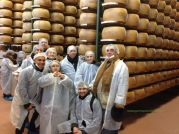 Visiting a Parmigiano diary